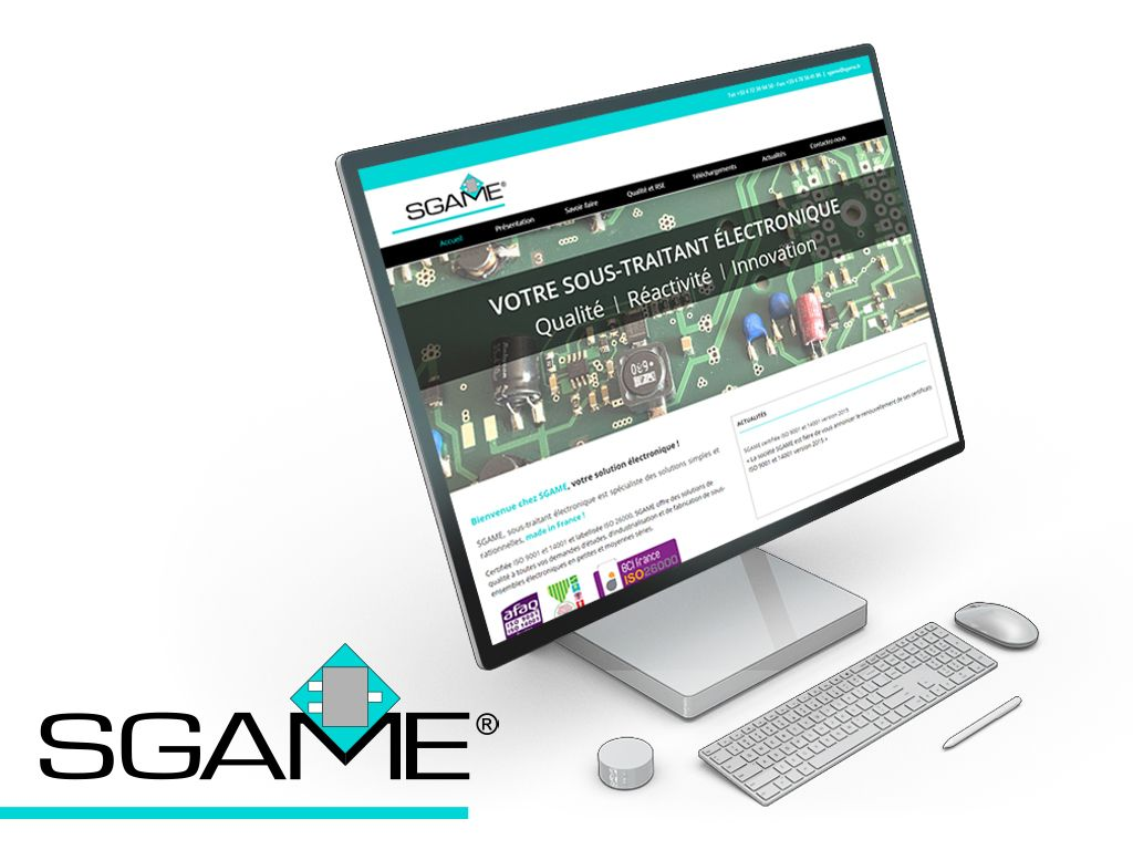 SGAME refonte site WordPress