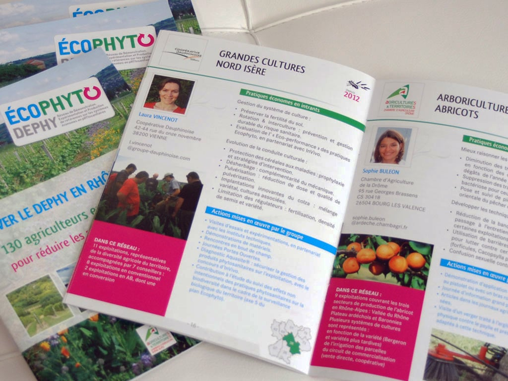 Livret Chambre agriculture Rhône Alpes Ecophyto