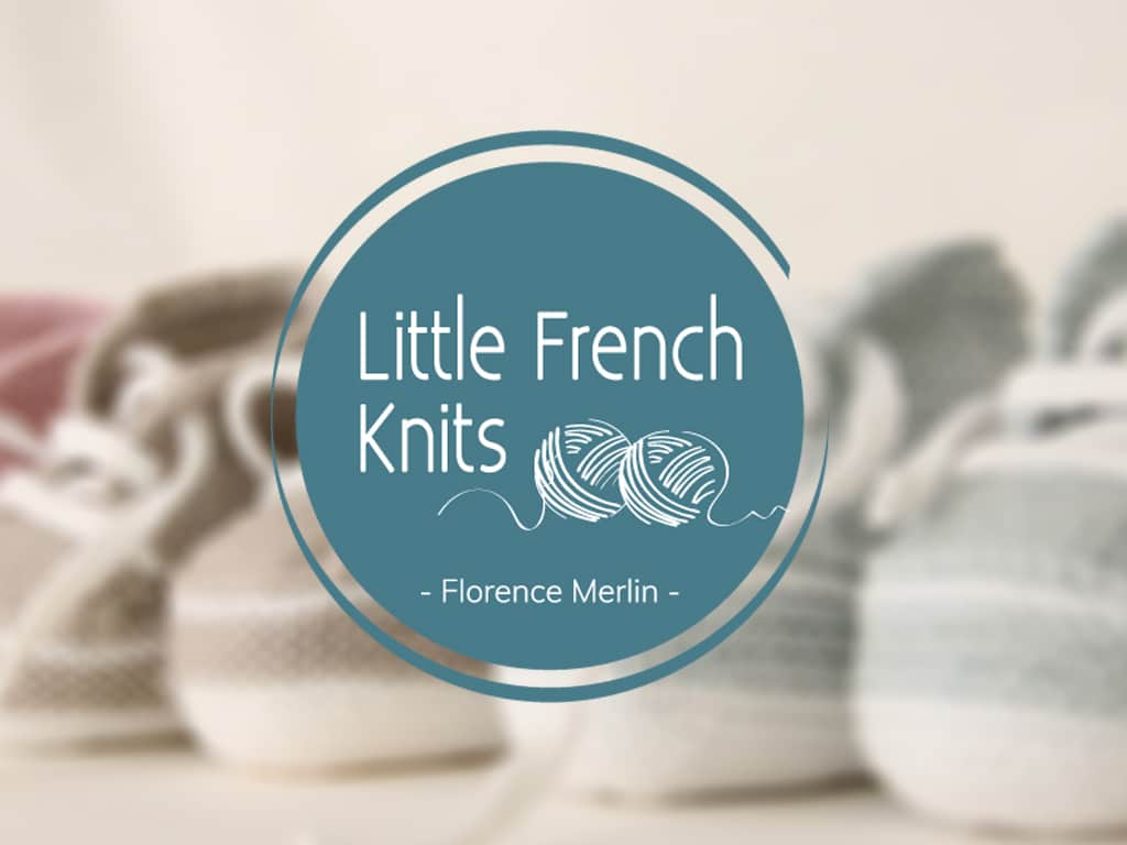 Little French Knits, logo type