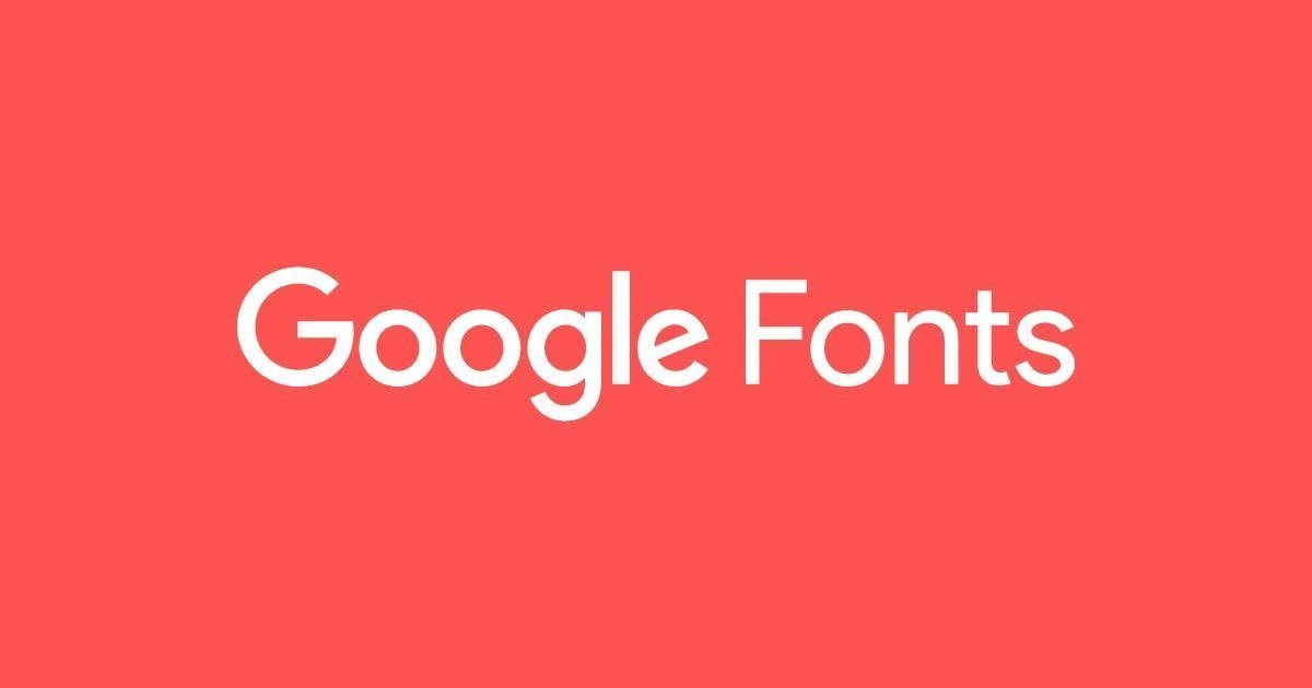 Google Font - Choix de typo web