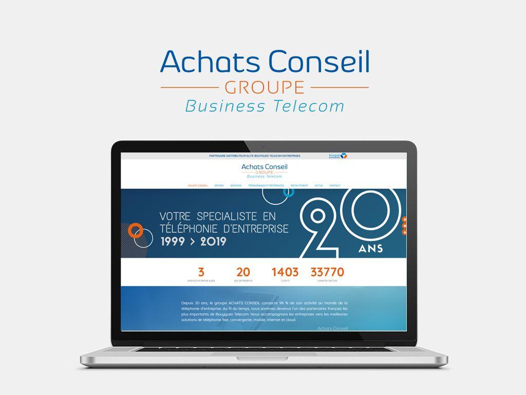 Achats Conseil - Refonte site Wordpress