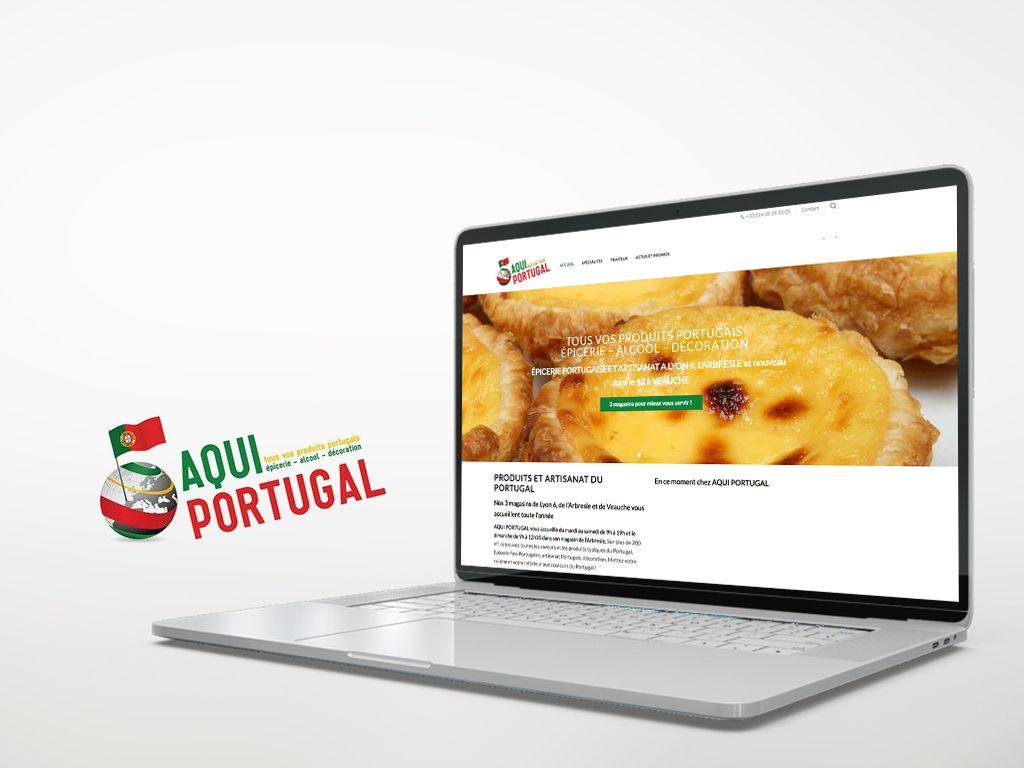 Aqui Portugal - Site de vente en ligne Woocommerce