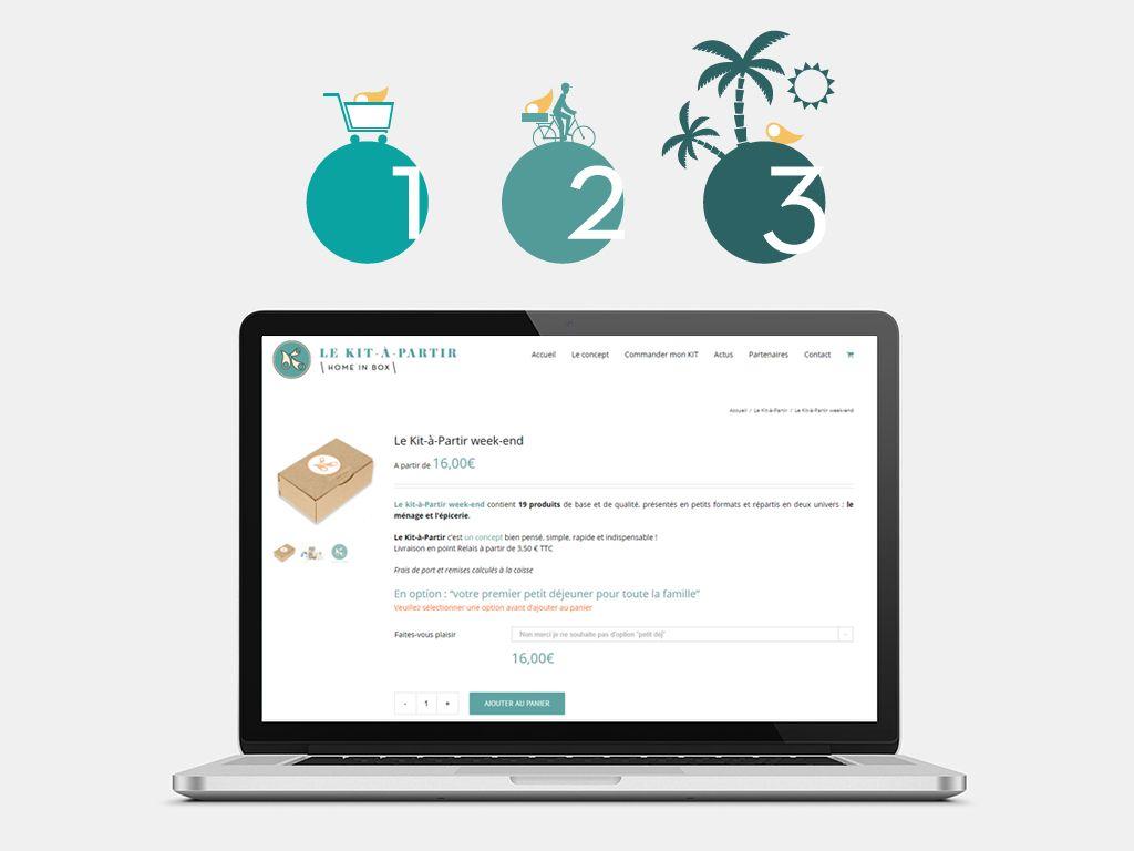 Le Kit A Partir - Création boutique en ligne Woocommerce