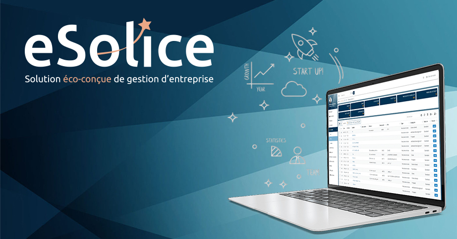 eSolice, la solution française éco-conçue de pilotage d'entreprise